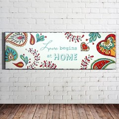 Wood Wall Art The Color Pattern, Wall Decor